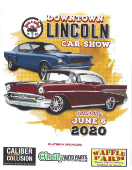 Rods & Relics Car Show 2020- Cancelled @ Historic Downtown Lincoln