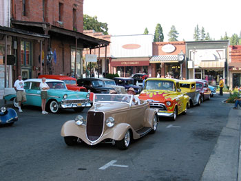Downtown Grass Valley Car Show @ Downtown Grass Valley